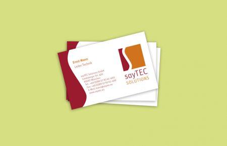 sayTEC CD+Print