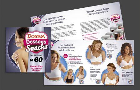 Dorina Dessous Snacks Prospekt